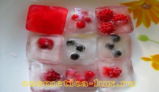 Как сделать лед для лица