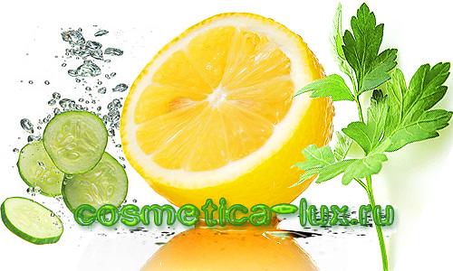 Огурец, петрушка, лимон для красоты. Маски для лица, уход за кожей лица, отбеливание