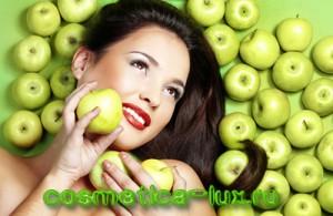 Яблочная косметика